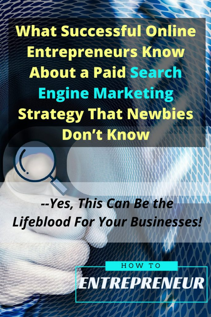 paid search engine marketing strategy