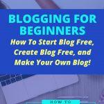 start blog free create blog free make your own blog