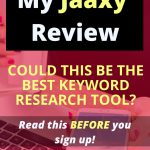 jaaxy review keyword research tool
