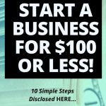 How To Start an Online Business For $100 or Less (in 10 Simple Steps)!
