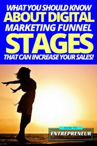 What You Should Know About The Digital Marketing Funnel Stages That Can Increase Your Sales!