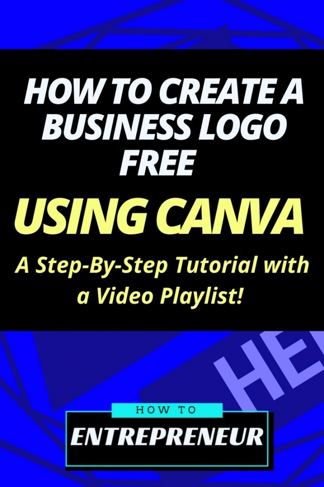 how to create a business logo free