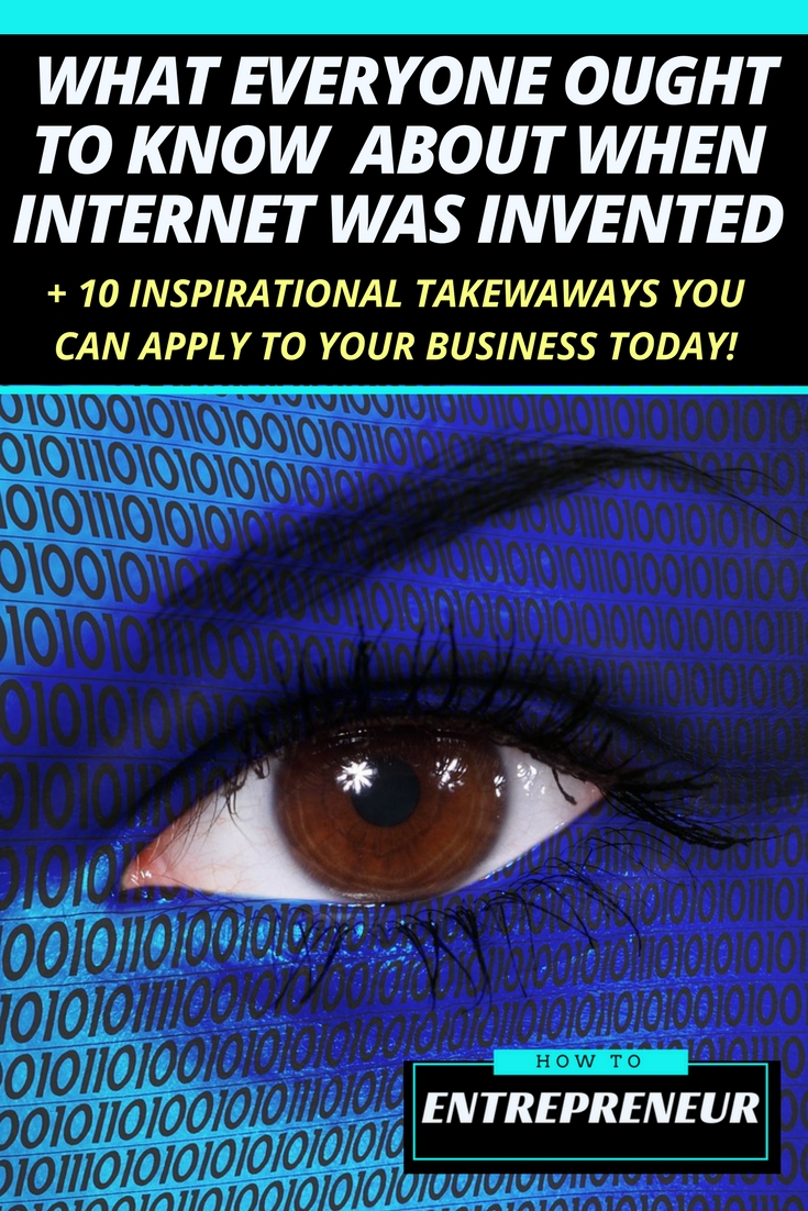 when was internet invented