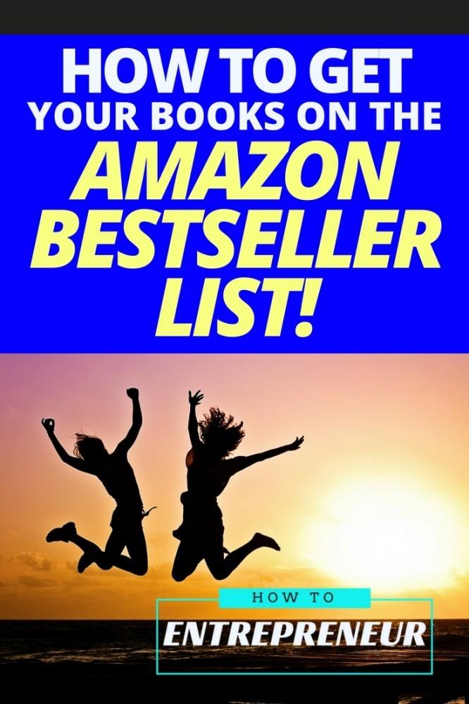 amazon bestseller list