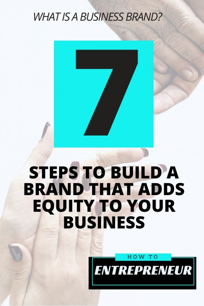 what is a business brand