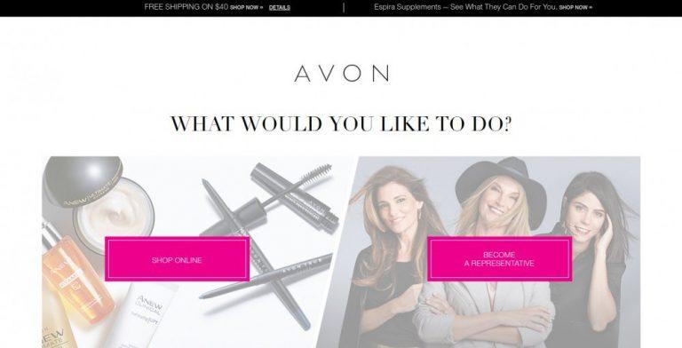 avon sales representative review
