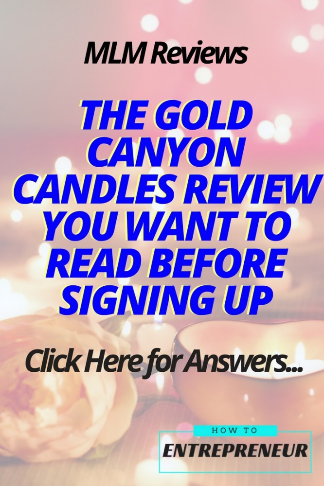 gold canyon candles review