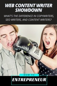 Web Content Writer Showdown: Copywriters, SEO, and Content Writer Differences