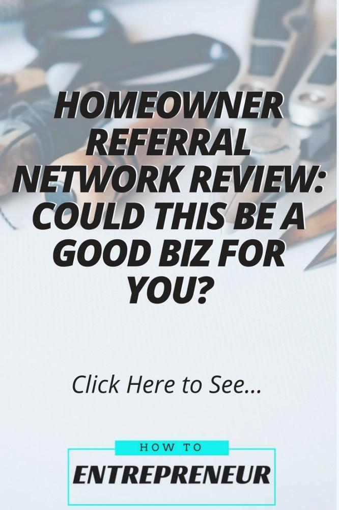 homeowner referral network