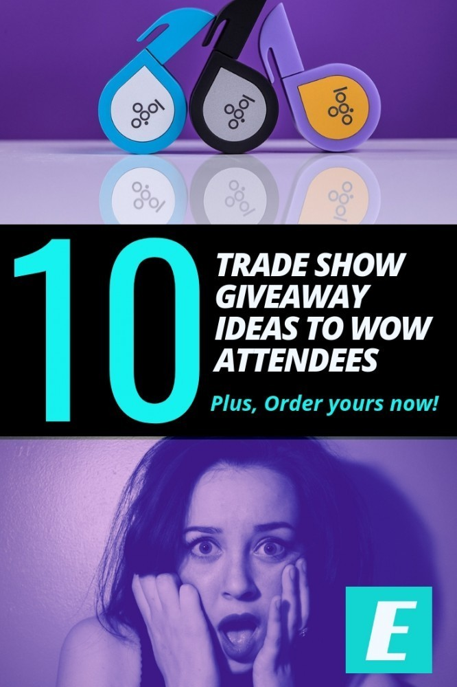 10 Trade Show Giveaway Ideas to Wow Attendees