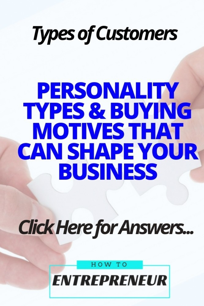 Types of Customers: Personality Types & Buying Motives