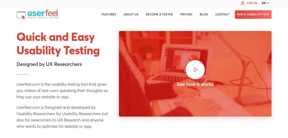 what is userfeel | userfeel homepage