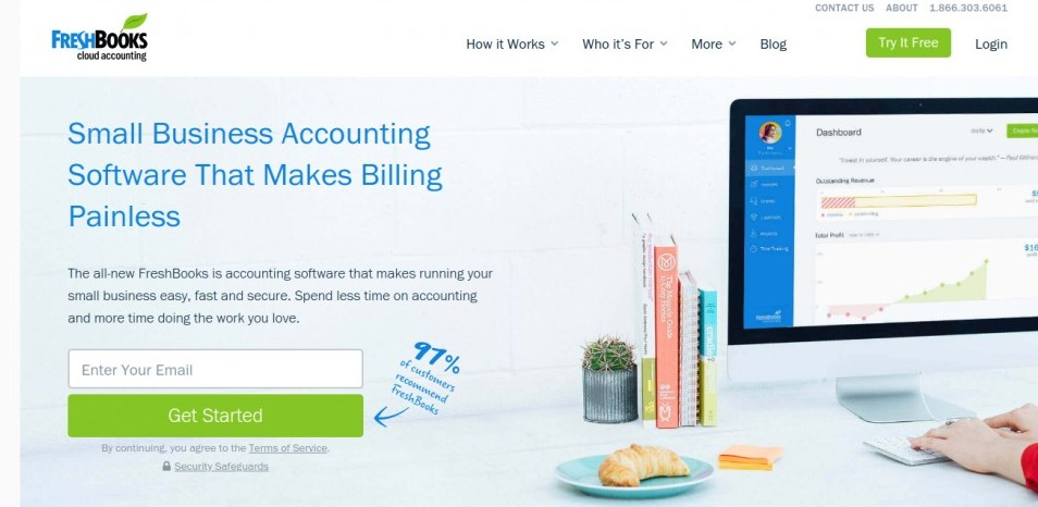 Freshbooks Small Business Cloud Accounting Software