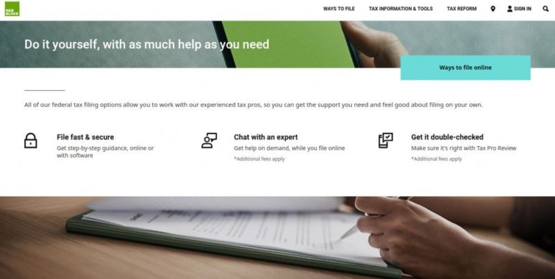 h&r block tax software review