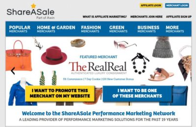 What is ShareaSale.com? A Good Affiliate Network for You? [Review]