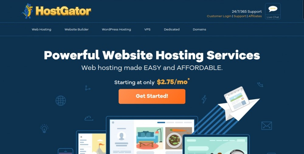 hostgator vs. wealthy affiliate review
