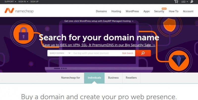 namecheap.com hosting review