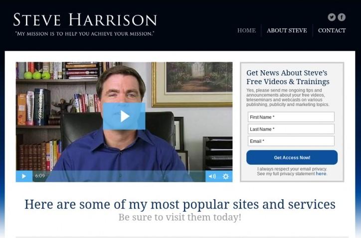 steve harrison publicity courses