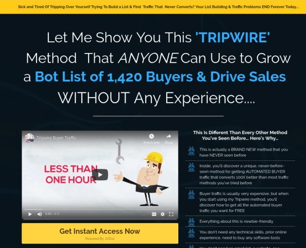tripwire buyer traffic review