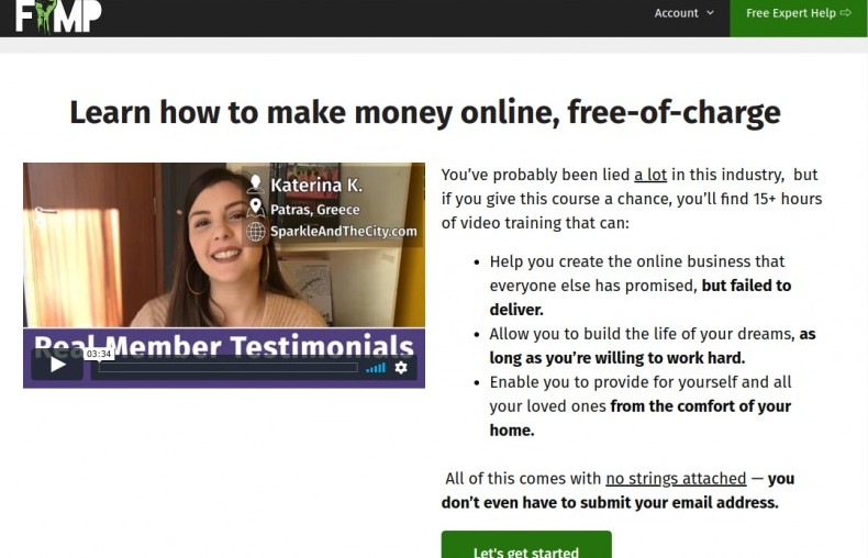 free internet marketing project review