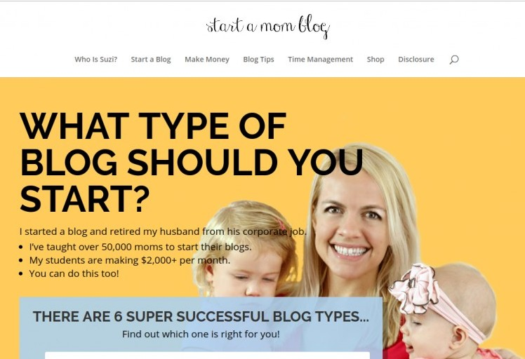 start a mom blog review