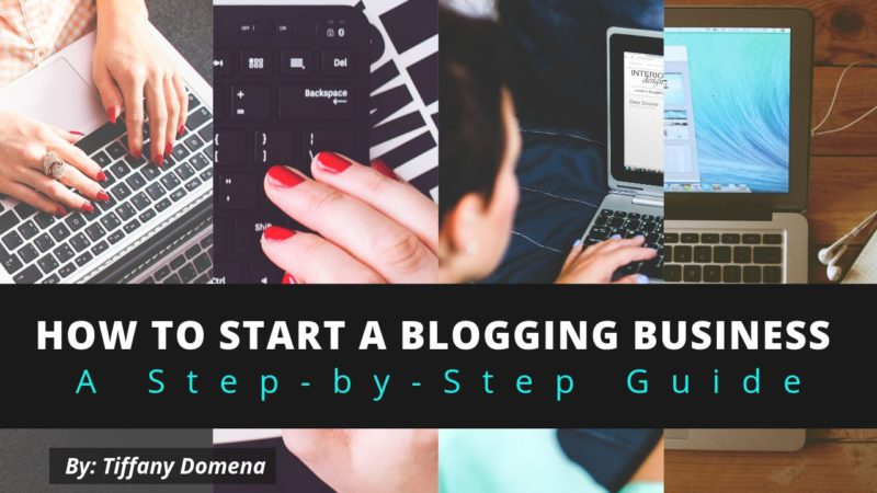 how to start a blogging business