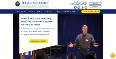 Lifestyles Unlimited Homepage