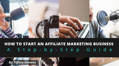 how to start an affiliate marketing business