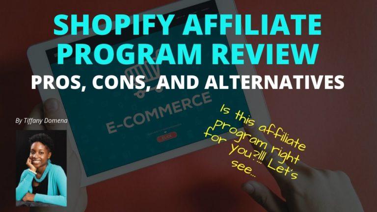 Shopify Affiliate Program review