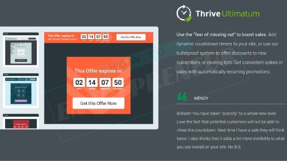 Thrive Ultimatum by Thrive Themes
