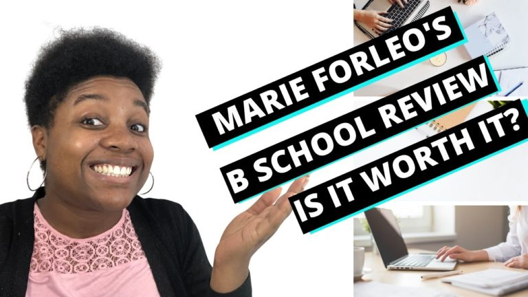 Marie Forleo - B School Review Featured Image