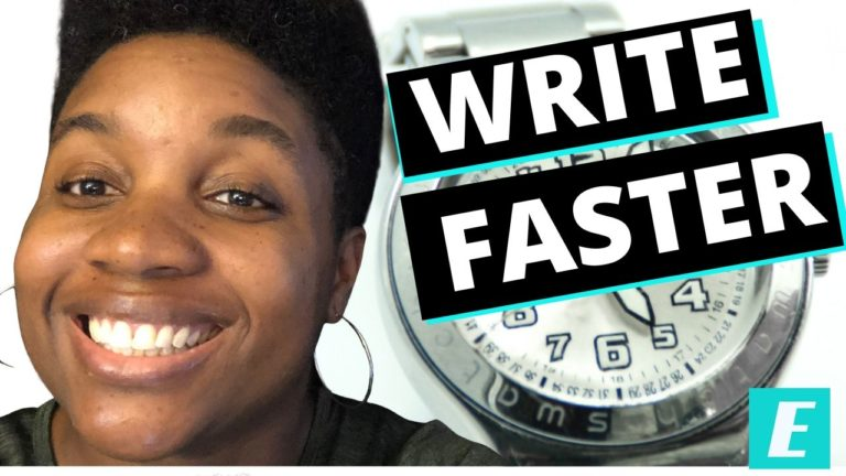How to Write Blog Posts Faster - Featured Image