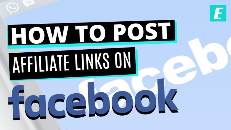 how to post affiliate links on facebook - Featured Image