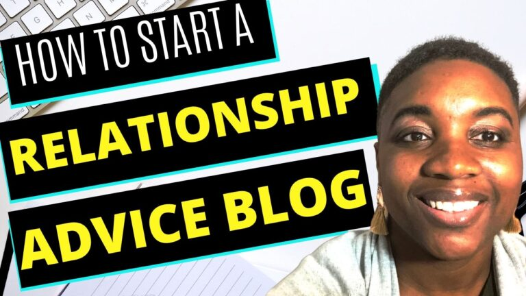 How to Start a Relationship Advice Blog - Featured Image
