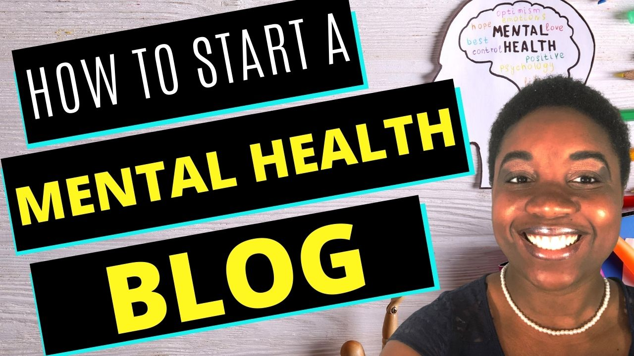 how to start a mental health blog - featured image
