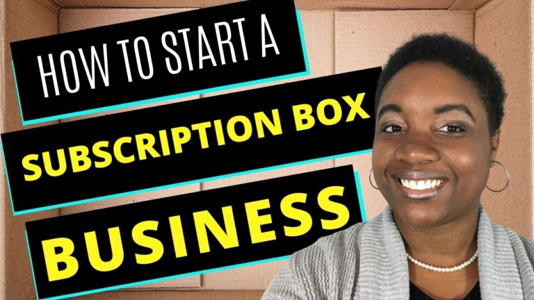 How to Start a Subscription Box Business - Featured Image