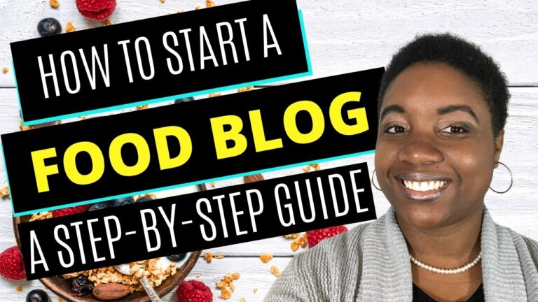 How to Start a Food Blog - Featured Image