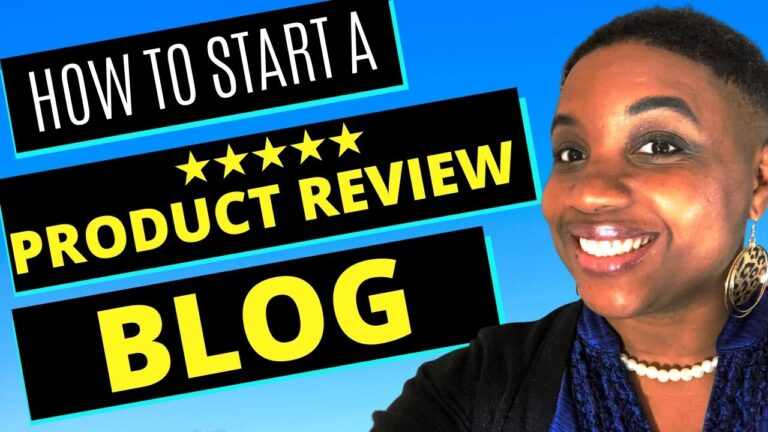 How to Start a Product Review Blog - Featured Image