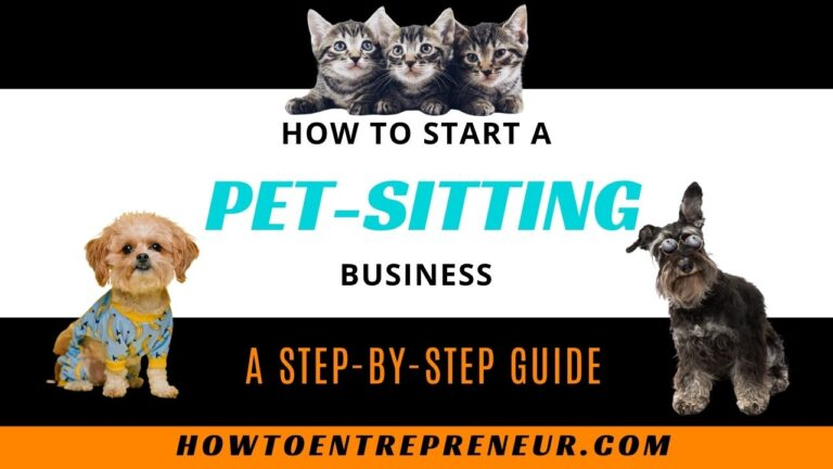 How to start a pet-sitting business