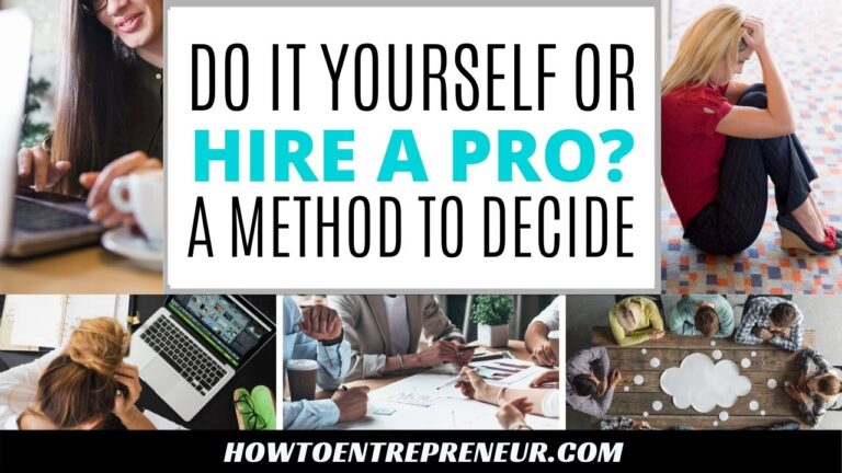 Do it yourself or Hire a Professional