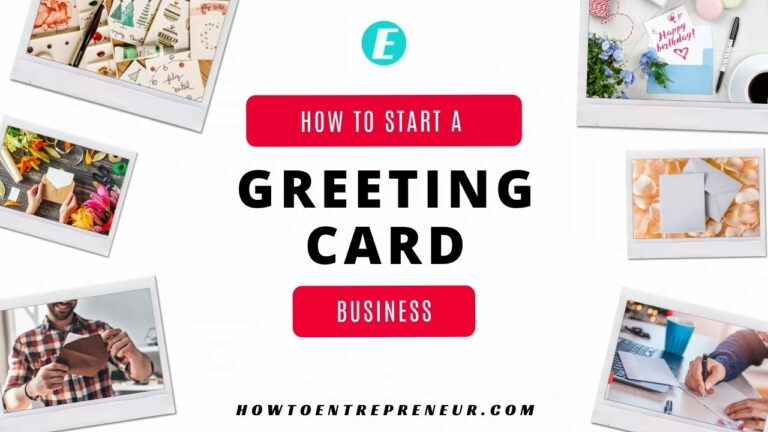 How to Start a Greeting Card Business