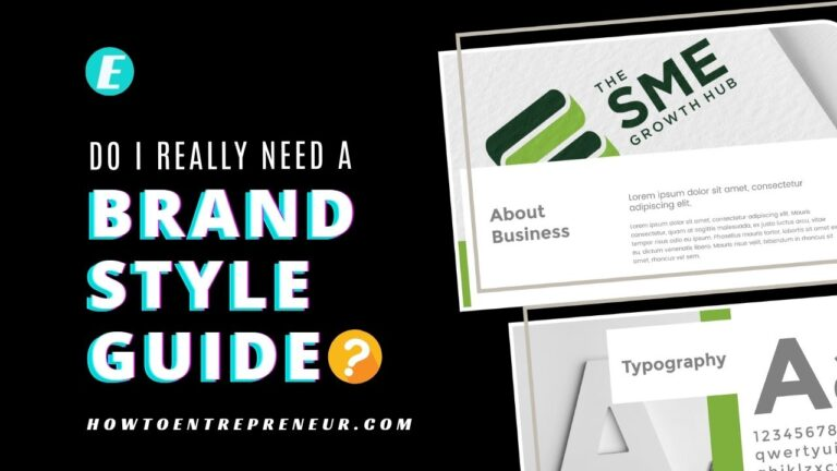 Do I Really Need a Brand Style Guide?